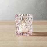 CB2 Set Of 6 Betty Pink Tea Light Candle Holders