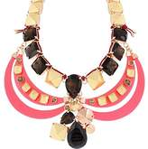 Marc by Marc Jacobs Womens Claude Chunky Rhinestone Collar Necklace Multi