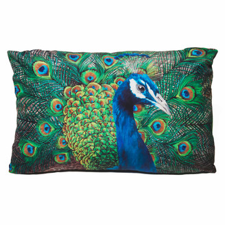 Katie & The Wolf Peacock Cushion - Large