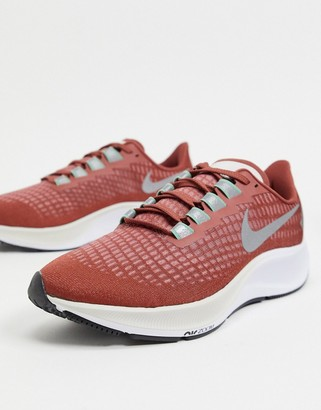Nike Running Air Zoom Pegasus 37 trainers in red