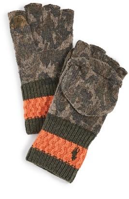 Polo Ralph Lauren Convertible Camo Gloves