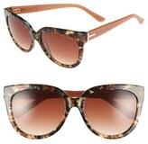 Ted Baker 55mm Cat Eye Sunglasses