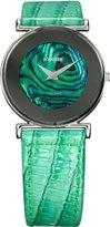Jowissa Women's J3.004.M Elegance Green Mother-Of-Pearl Watch