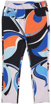 Emilio Pucci Heliconia Printed Viscose Blend Pants