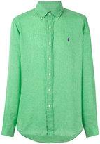Ralph Lauren classic shirt - men - Linen/Flax - S
