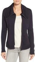 Nic+Zoe Women's Knit Moto Jacket
