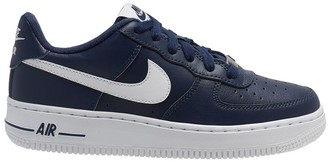 Nike Kids Air Force 1 Leather Trainers