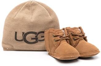 Ugg Kids Neumel lace-up boots