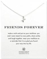 Dogeared Friends Forever Crossing Arrows 925 Sterling Silver Necklace of Length 45.72 cm