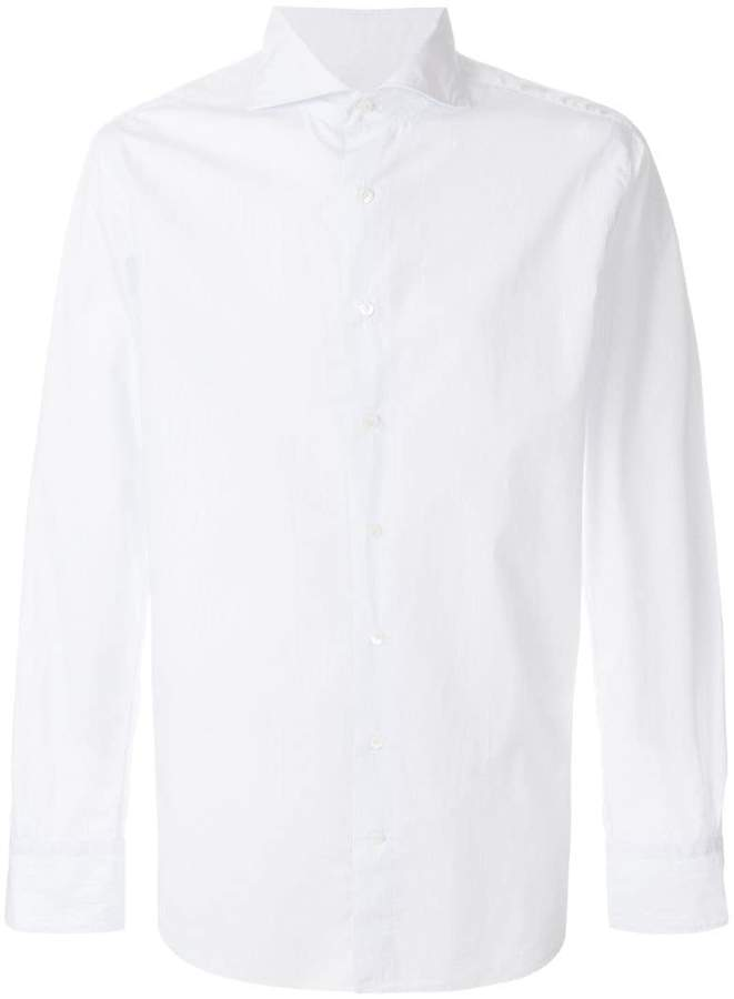 Privee Salle slim button shirt