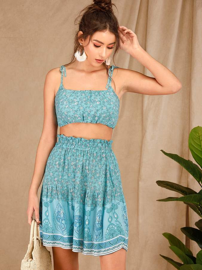 f2d1c2f728 Paperbag Waist Skirt - ShopStyle