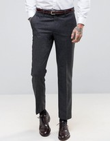 Harry Brown Heritage Slim Fit Donegal Suit Trousers