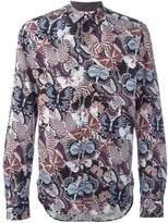 Valentino Men's Multicolor Cotton Shirt.