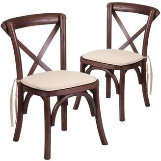 Loon Peak Ivonne Cross Back Kids Chair