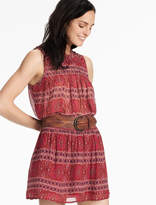 Lucky Brand Smocked Skirt