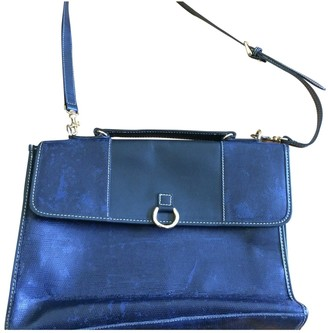 Lancel Blue Patent leather Handbags