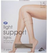 Boots 15 Denier Light Support Natural Tan Tights 2 Pair Pack
