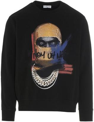 Ih Nom Uh Nit Mask Print Sweatshirt