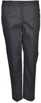 Dolce & Gabbana Polka Dot Cropped Trousers