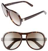 Chloé Women's Marlow 59Mm Oversized Sunglasses - Black