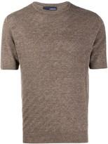 Lardini short-sleeved knitted top