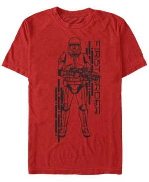 Star Wars Men's Rise Of Skywalker First Order Sith Trooper Short Sleeve T-Shirt