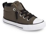 Converse Boy's Chuck Taylor All Star Basket Weave Street Mid Sneaker