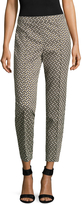 St. John Women's Tribal Geo Jacquard Leggings