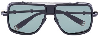Balmain Eyewear Aviator-Frame Sunglasses