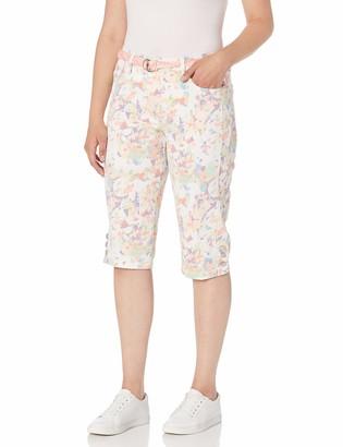 Gloria Vanderbilt Women's Petite Mila Belted Skimmer Short