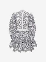 Alexander McQueen Broderie Anglaise Popeline Dress