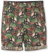 Stella McCartney khaki hawaiian print lucas shorts
