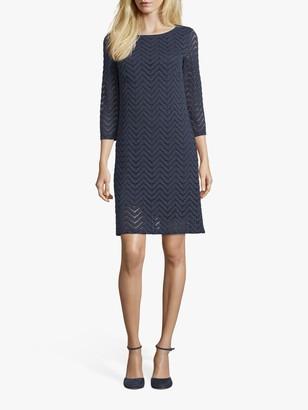 Betty Barclay Textured Lace Dress, Dark Sky