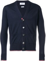 Thom Browne Classic Cashmere V-neck Cardigan