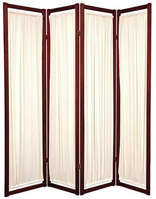 Oriental Furniture 6 ft. Tall Helsinki Shoji Screen - 4 Panel