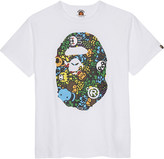 A Bathing Ape Baby Milo Island oversized cotton T-shirt 4-8 years