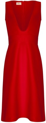 Bo Carter Jodie Dress In Red