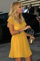 Keepsake Lost Without You Dress in Mustard