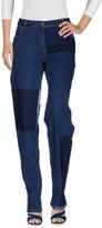 Preen Line Denim pants - Item 42615193