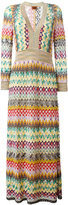 Missoni zig zag dress - women - Silk/Polyester/Spandex/Elastane/Viscose - 42