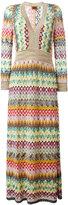Missoni zig zag dress - women - Viscose/Cupro/Polyester/Silk - 42