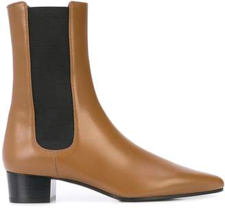 The Row British ankle boots