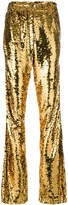 Faith Connexion sequinned flared trousers