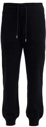 Barrie Romantic Cashmere Track Pants - Womens - Black