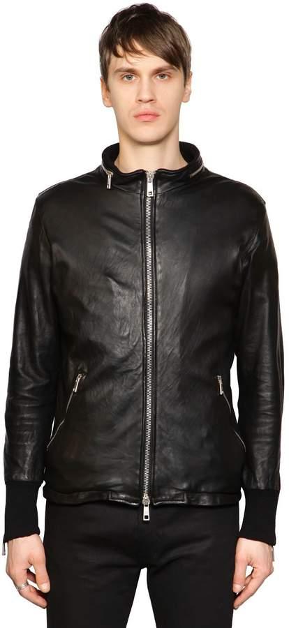 Giorgio Brato Iconic Leather Moto Jacket