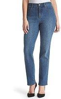 Gloria Vanderbilt Women's Petite Amanda-Classic Straight Leg Jean in Short Length