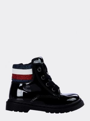 Tommy Hilfiger Lace-Up Booties