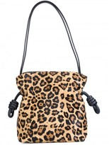 Loewe leopard print shoulder bag