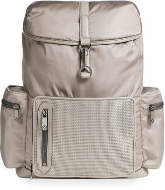 Ermenegildo Zegna Men's PELLETESSUTA Special Bucket Backpack