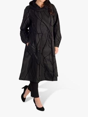 Chesca Velvet Embossed Reversible Raincoat